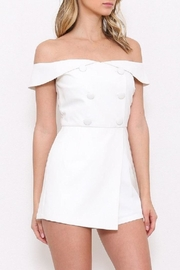 Latiste White Ots Romper - Front full body