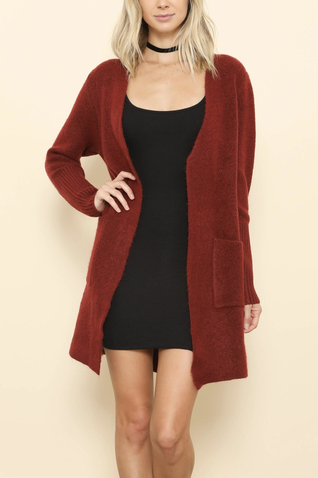 Latiste Wool Open Cardigan from Florida by Apricot Lane St ...
