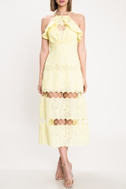 Latiste Yellow Floral Dress - Product Mini Image