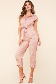 Latiste Zip Up Jumpsuit - Front cropped