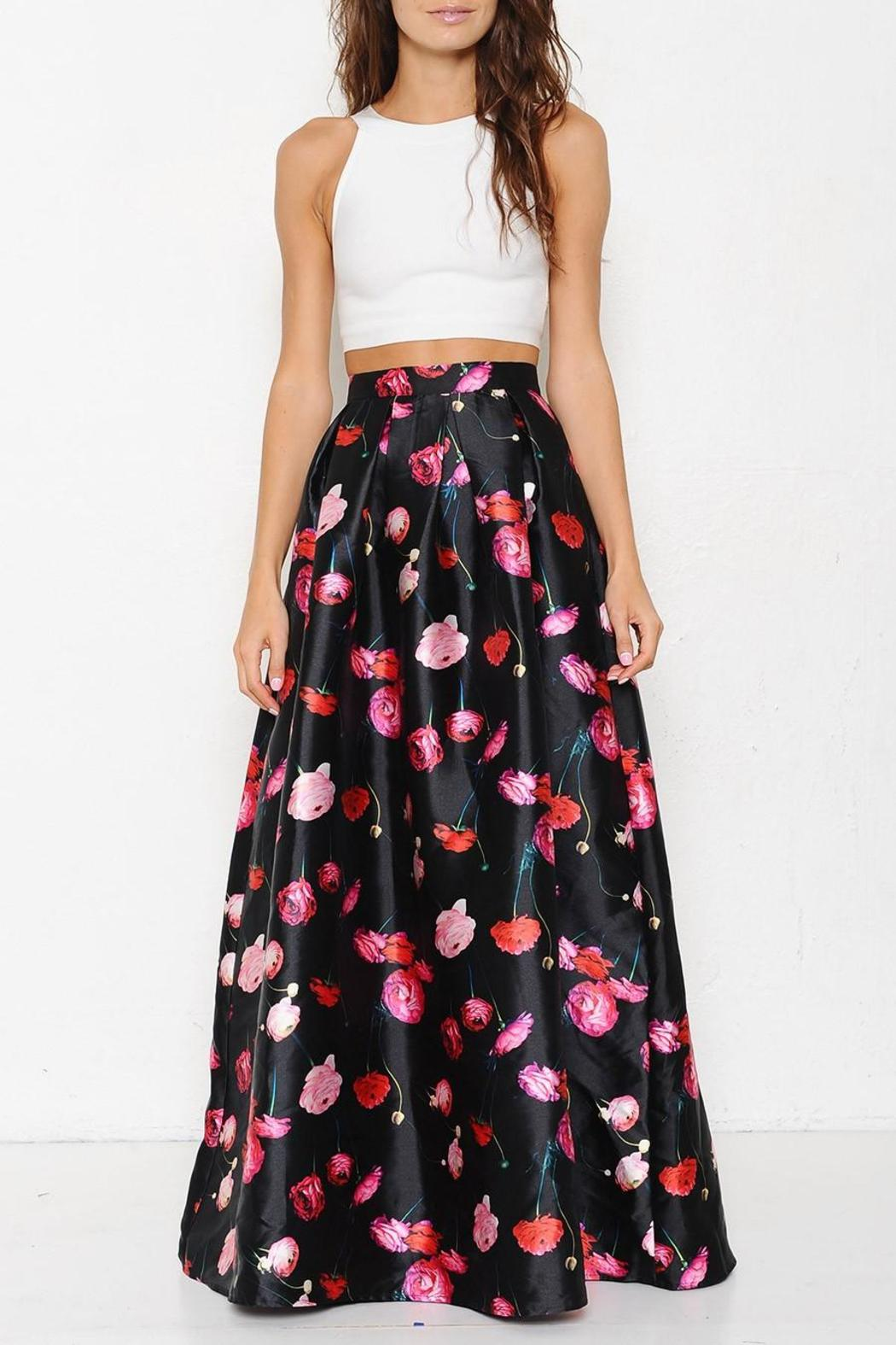 92d551181d2d Latiste by AMY Floral Maxi Skirt from Georgia by High Maintenance ...