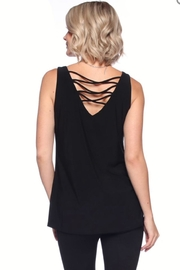 Last Tango Lattice Back Tank - Front cropped