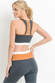 Mono B Show Latticeback Sports Bra - Product Mini Image