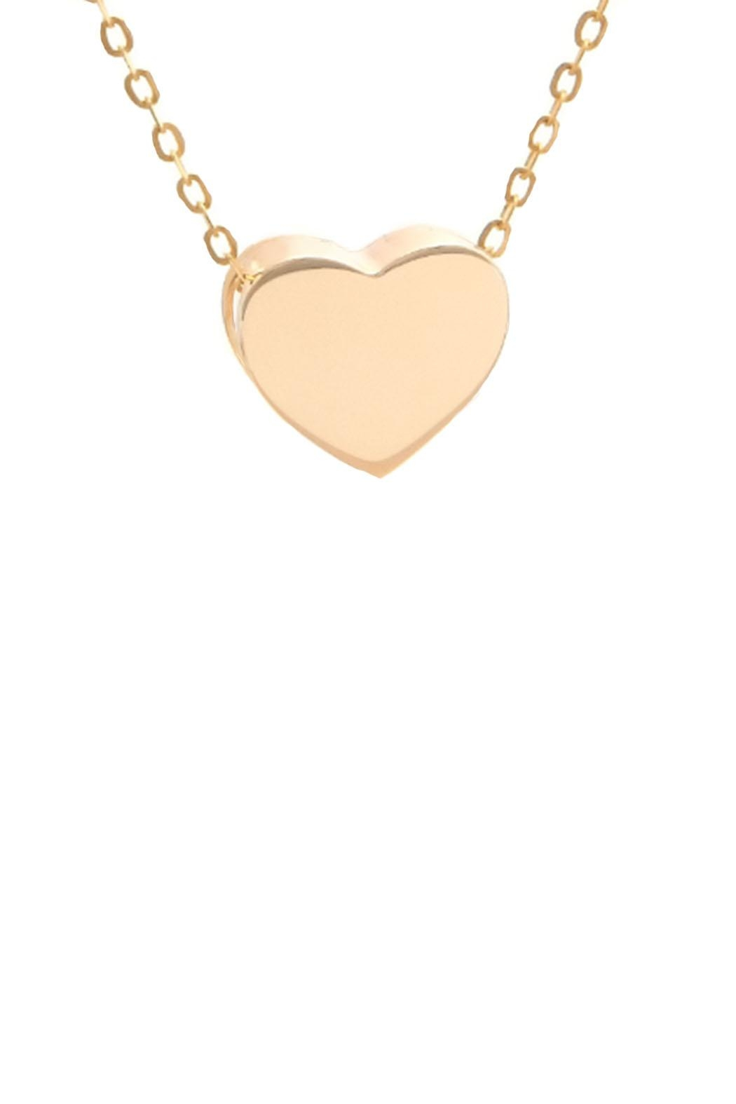 Lau International Heart Pendant Necklace - Front Cropped Image