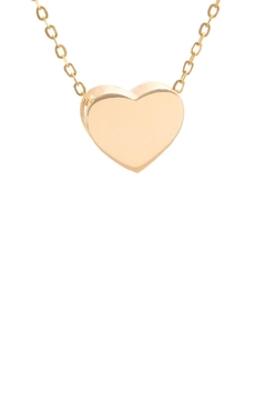 Shoptiques Product: Heart Pendant Necklace