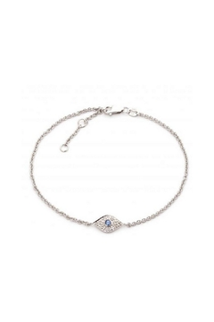 Lets Accessorize Sapphire Eye Bracelet - Alternate List Image