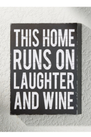 Giftcraft Inc.  Laughter and Wine Decor - Product Mini Image