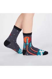 Sock it to me Launch From Earth Socks - Product Mini Image