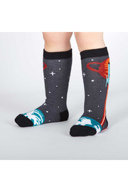 Sock it to me Launch From Earth Toddler Knee High Socks - Product Mini Image