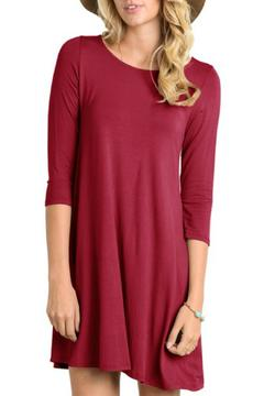 Laundry Burgundy Holiday Dress - Product List Image