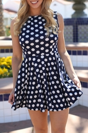 Laundry Polka Dot Dress - Front cropped