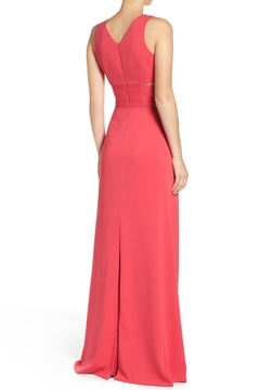 Laundry by Shelli Segal Deep V Neck Gown - Alternate List Image