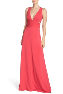 Laundry by Shelli Segal Deep V Neck Gown - Product List Image