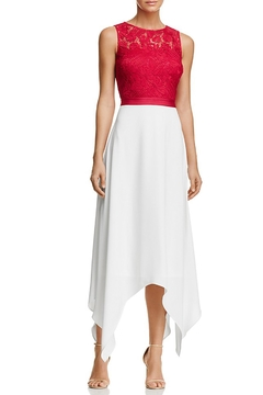 Laundry by Shelli Segal Lace Bodice Gown - Product List Image