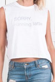 Laundry Room Sorry Running Late Tank - Product Mini Image