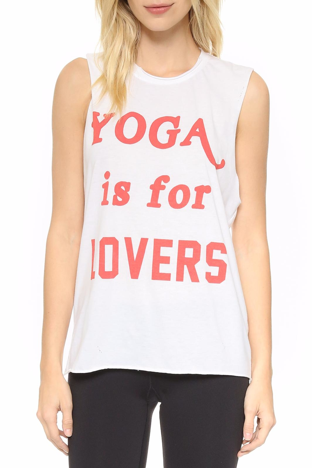 Laundry Room Yoga Tank - Front Cropped Image