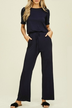 annabelle Laura Navy Jumpsuit - Product List Image