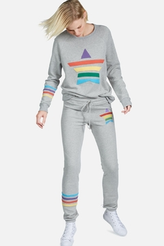 Lauren Moshi Laura Rainbow Vintage Pullover - Alternate List Image