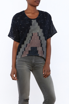 Laura Siegel Ikat Top - Product List Image