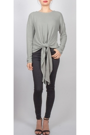 Lumiere Laura Tie-Front Sweater - Product Mini Image