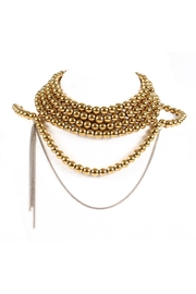Laura Cantu Gold Pearl Choker - Product Mini Image