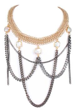 Shoptiques Product: Goldplated Chain Choker