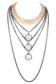 Laura Cantu Layered Chain Choker - Front cropped