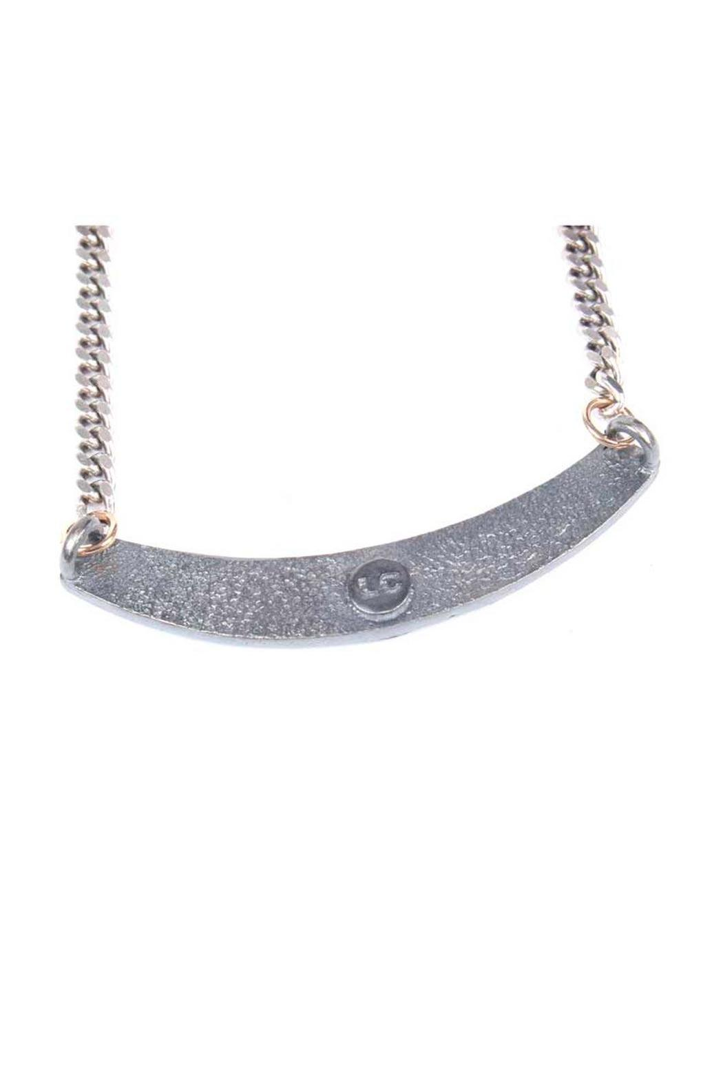 Laura Cantu Loveme Silver Necklace - Side Cropped Image