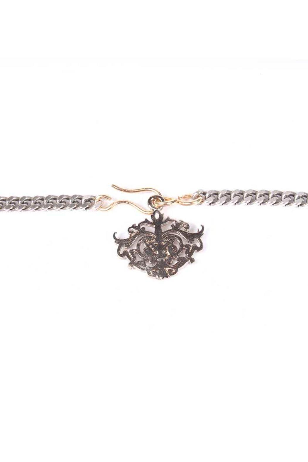 Laura Cantu Loveme Silver Necklace - Back Cropped Image