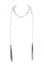 Laura Cantu Pear Lariat Chain - Product Mini Image
