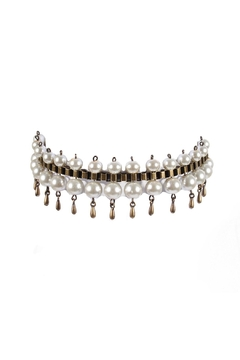 Shoptiques Product: Pearl Choker With Drops