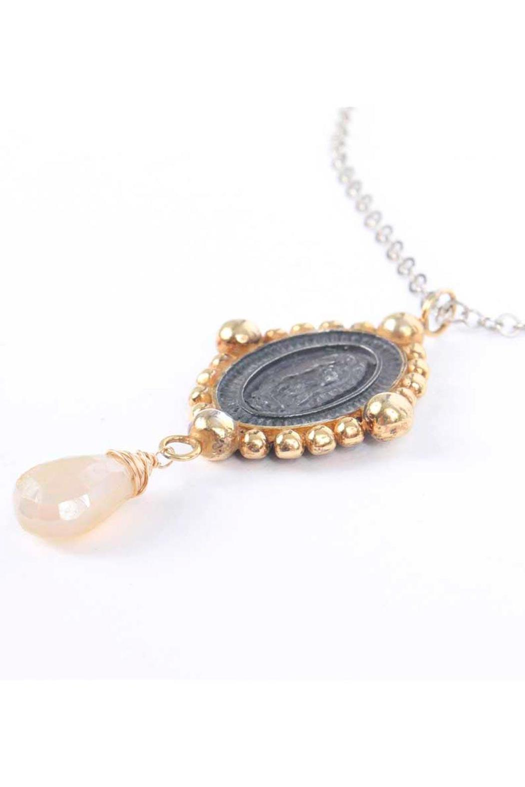 Laura Cantu Virgin Guadalupe Moonstone - Front Full Image