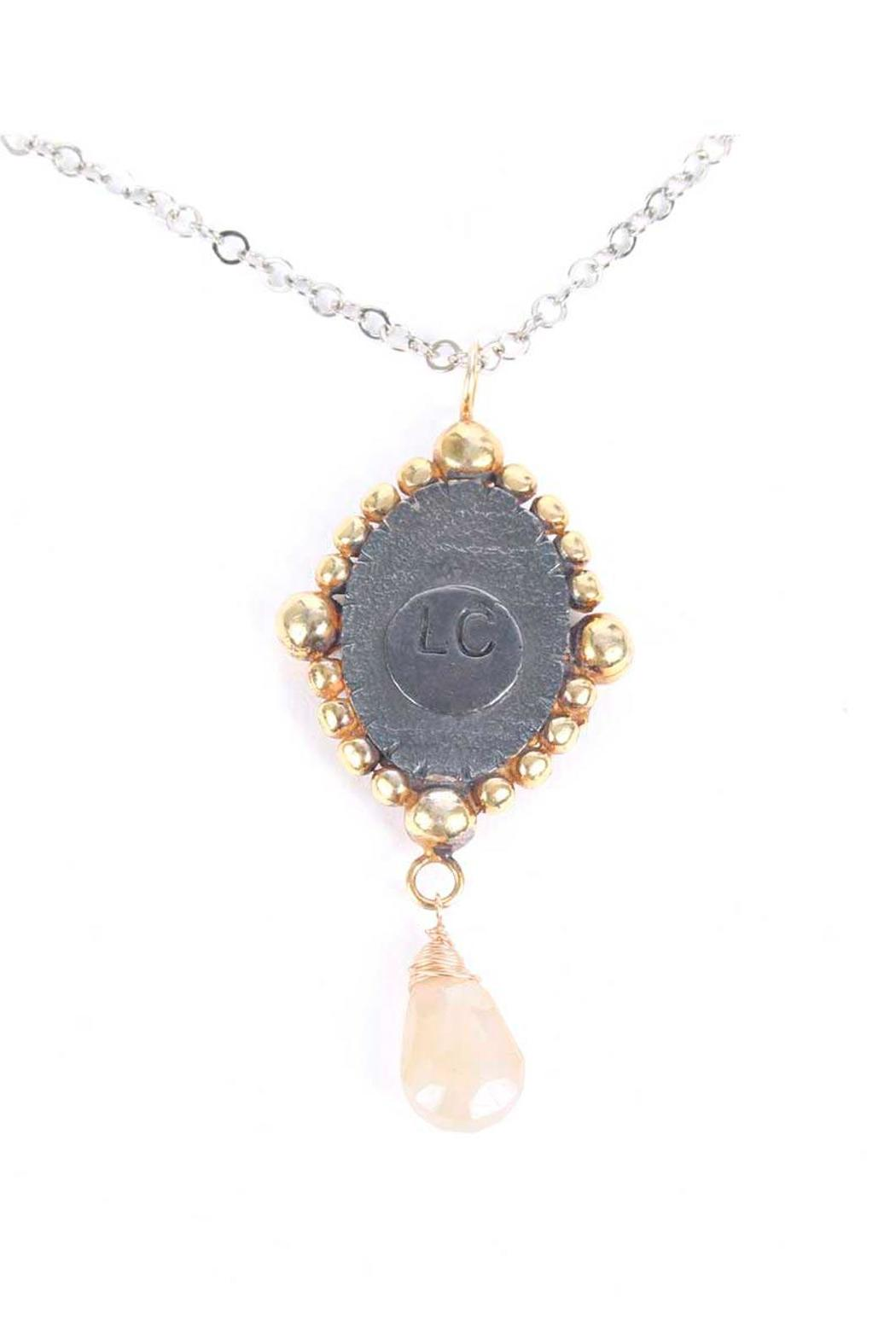 Laura Cantu Virgin Guadalupe Moonstone - Back Cropped Image
