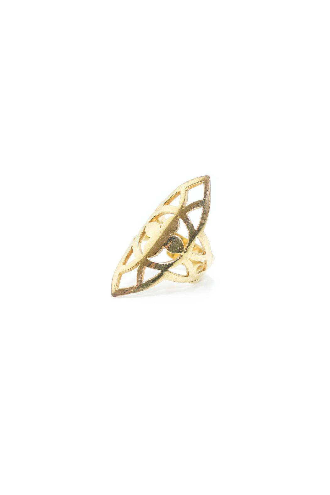 Laura Cuevas Gold Ring - Main Image