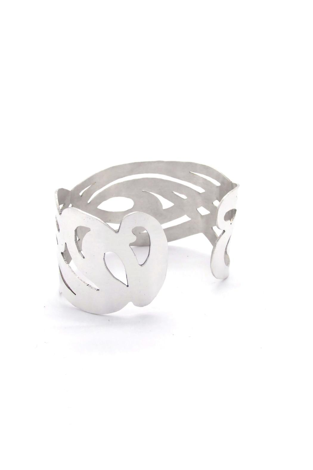 Laura Jane's Jewelry Art Nouveau Cuff - Front Full Image