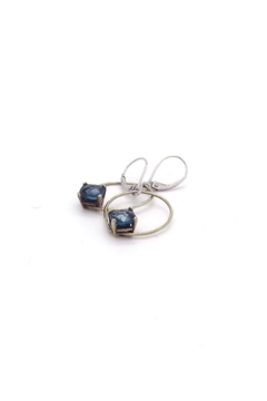 Laura Jane's Jewelry Blue Teardrop Earrings - Alternate List Image