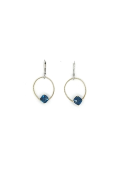 Laura Jane's Jewelry Blue Teardrop Earrings - Product List Image