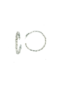 Laura Jane's Jewelry Braided Hoop Earrings - Product List Image