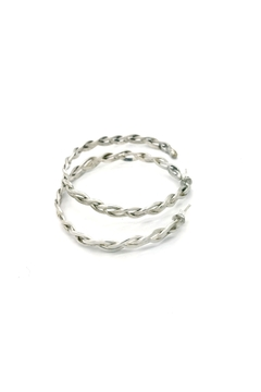 Laura Jane's Jewelry Braided Hoop Earrings - Alternate List Image