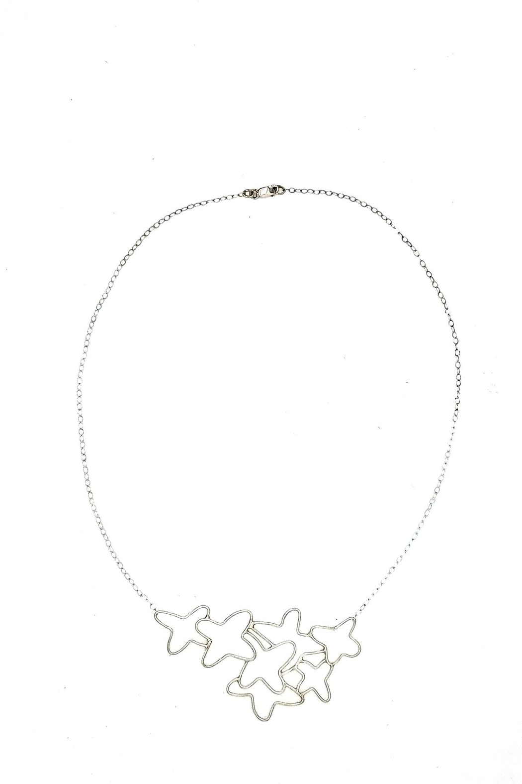 Laura Jane's Jewelry Floral Necklace - Main Image