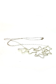 Laura Jane's Jewelry Floral Necklace - Front full body