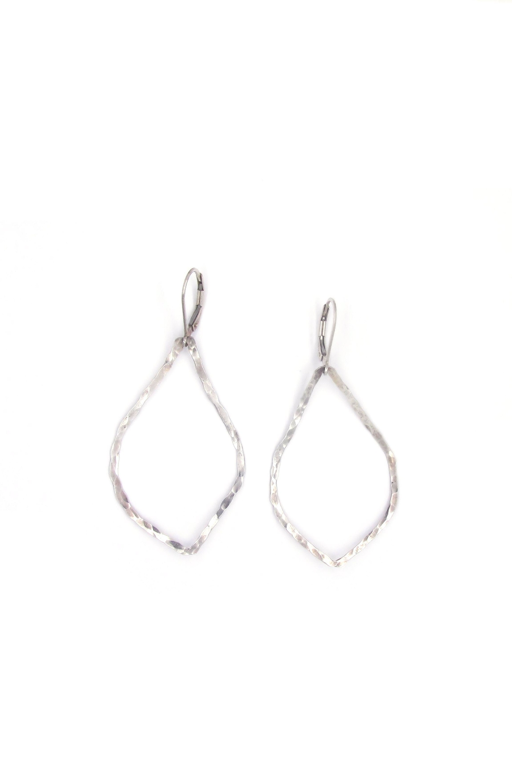 Laura Jane's Jewelry Hammered Teardrop Earring - Main Image