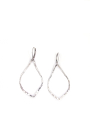 Laura Jane's Jewelry Hammered Teardrop Earring - Product Mini Image