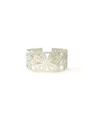 Laura Jane's Jewelry Light Geometric Cuff - Front cropped