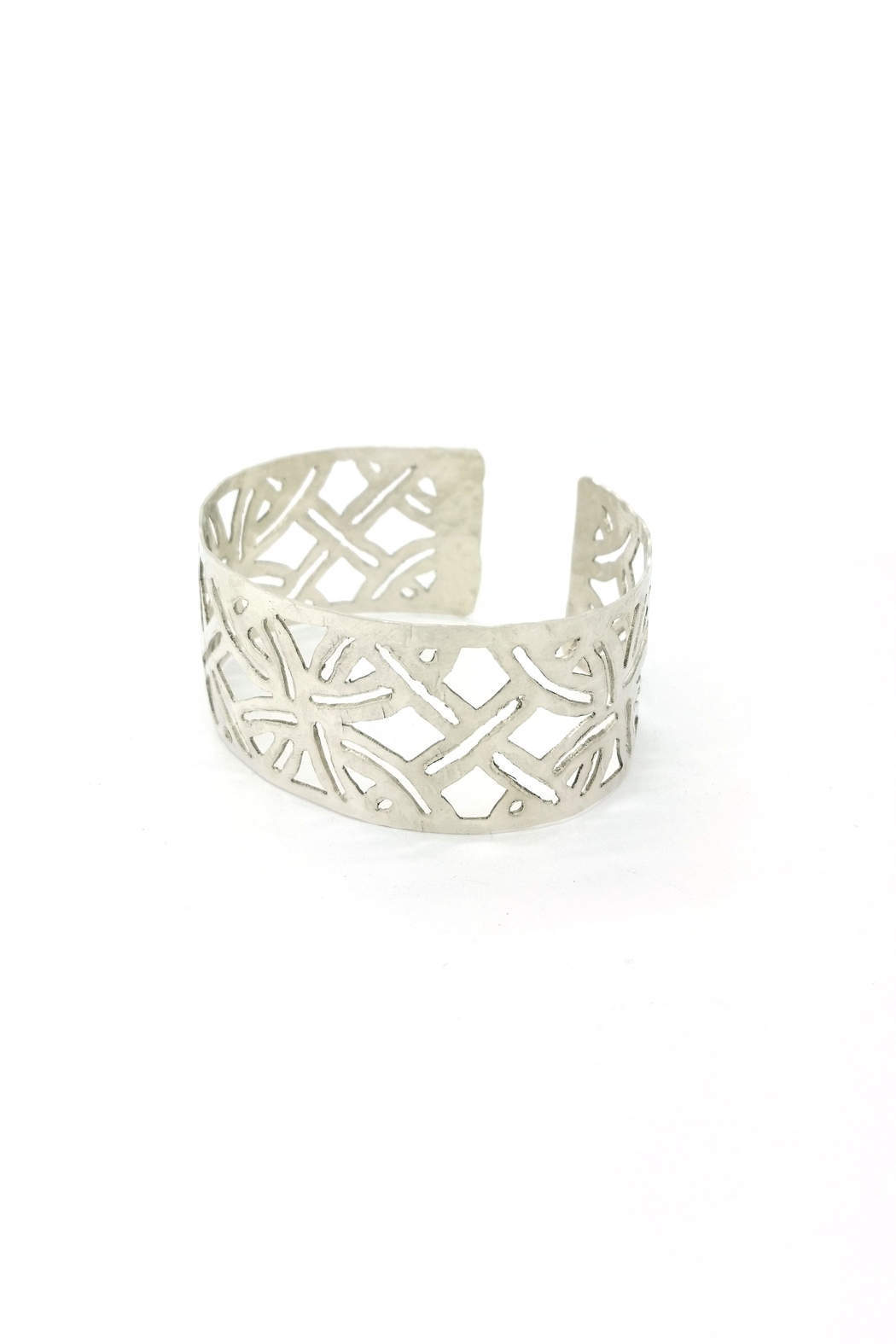 Laura Jane's Jewelry Light Geometric Cuff - Front Full Image