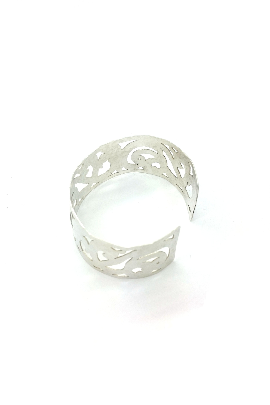 Laura Jane's Jewelry Light Scrollwork Cuff - Side Cropped Image