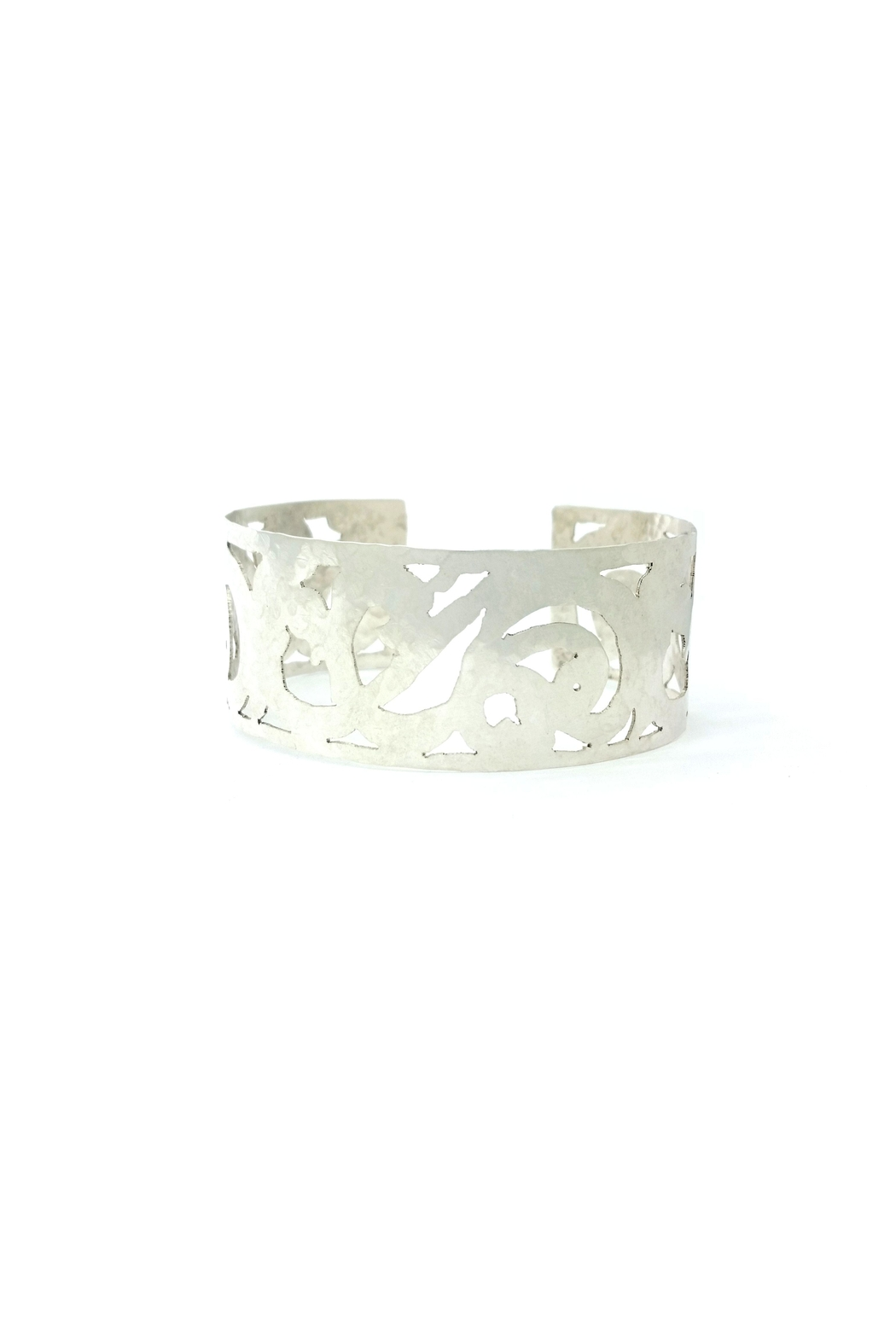 Laura Jane's Jewelry Light Scrollwork Cuff - Main Image