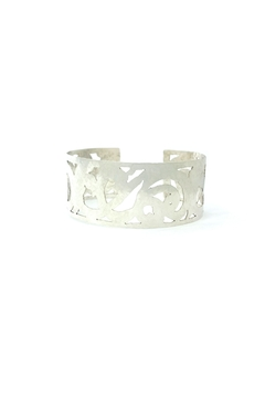 Laura Jane's Jewelry Light Scrollwork Cuff - Product List Image