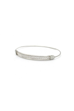 Laura Jane's Jewelry Silver Braid Bangle - Alternate List Image
