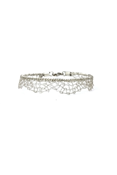 Laura Jane's Jewelry Silver Lace Bracelet - Product List Image
